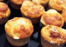 Muffin di Emmenthal e speck